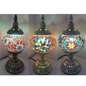 Turkish mosaic table lamp various colours and bases ce british plug image is loading turkish mosaic table lamp various colours and bases aloadofball Images