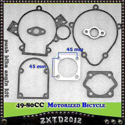 Gasket for 2 Stroke Motorized Motorised Bicycle Push Bike 66/70/80cc Engine Kit
