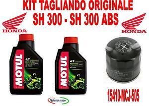 /2017 Kit Tagliando Completo Honda SH300/2007/
