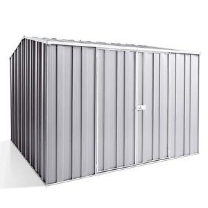 YardSaver-G88-2-8m-x-2-8m-Gable-Roof-Dbl-Door-Zinc-Garden-Shed