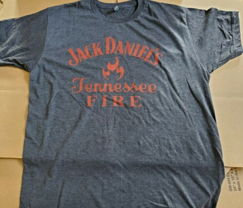 Jack Daniels Tennessee fire Short Sleeve T-Shirt size large whiskey