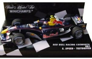 Minichamps-varios-Red-Bull-F1-Modelo-Coches-Coulthard-c-Klien-S-Velocidad-Liuzzi-1-43