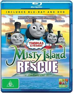 Thomas-amp-Friends-Misty-Island-Rescue-The-Movie-2-Discs-BLU-RAY-NEW