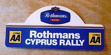 Rothmans AA Cyprus Rally Motorsport Sticker Decal