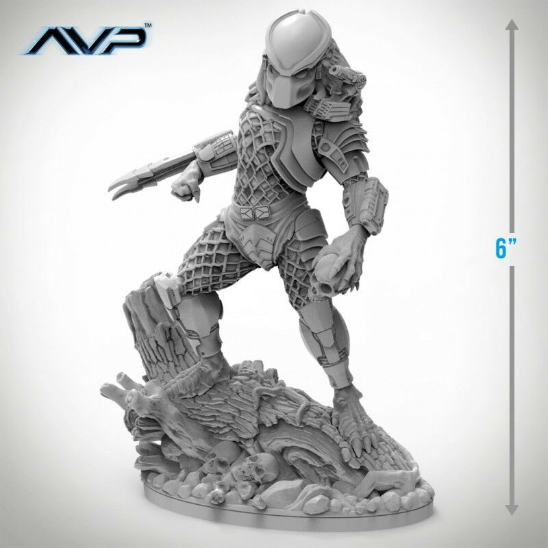 Alien vs Predator - Predator Jungle Hunter Statue - 6  Tall - AVP