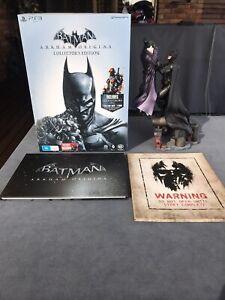 Batman Arkham Origins Collectors Edition Limited Statue Art Book PS3 (No Game)