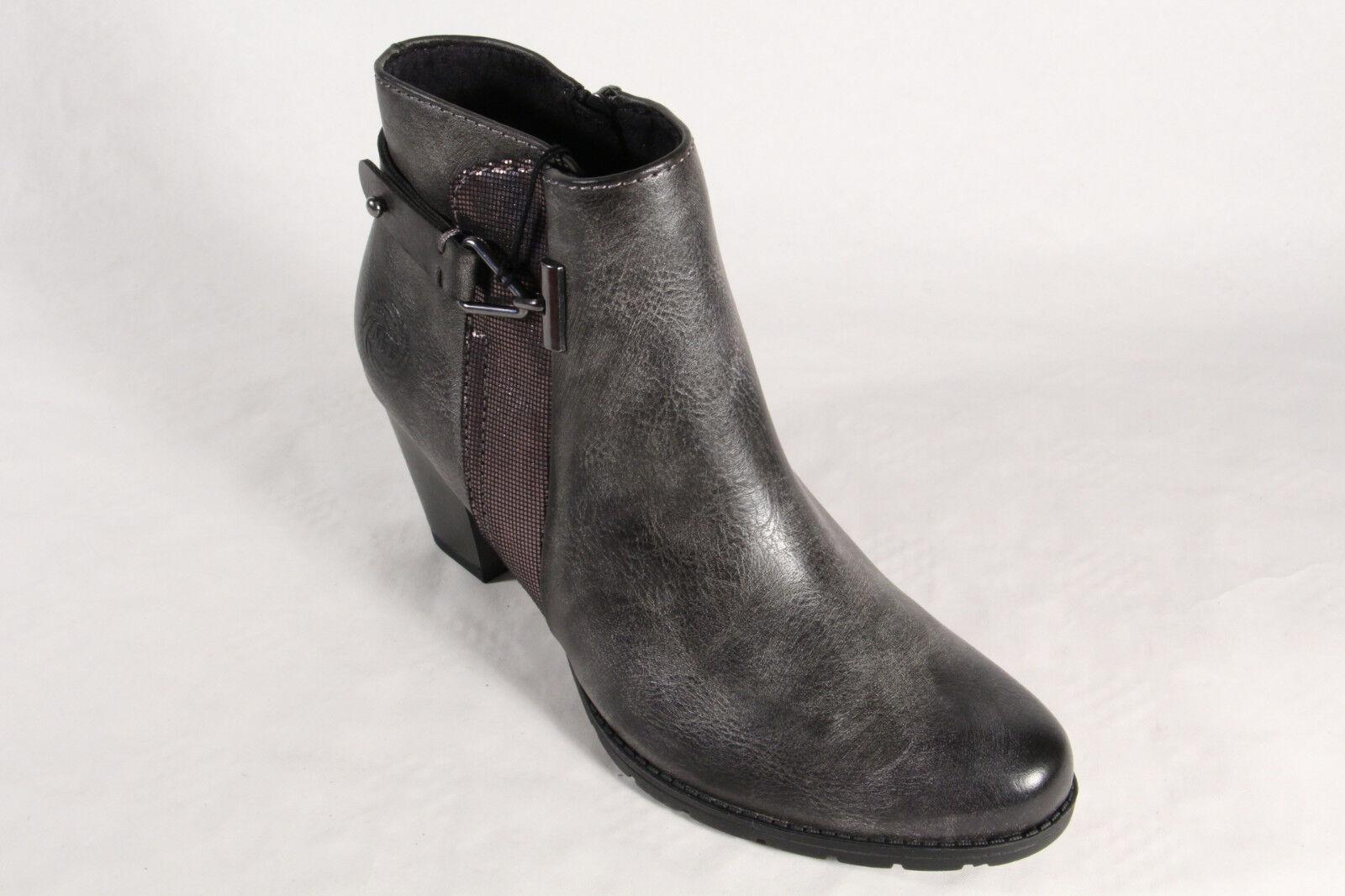 Marco Tozzi Damen Stiefel Stiefeletten NEU Schnürstiefel, Stiefel grau 25051 NEU Stiefeletten 450284
