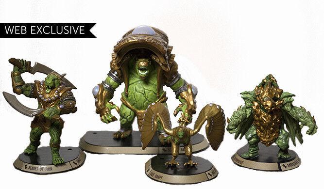 Golem Arcana Durani Empire  The Jade Guardians Web Exclusive Rare OP