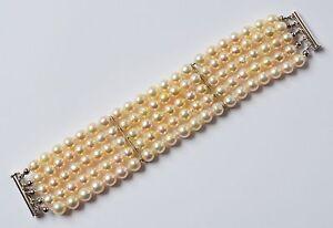 Damen Armband 5-gliedrig Verschluss 925 Sterling Silber 111 ebay antikator
