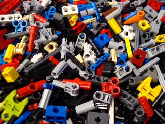 Pins Axles Rods Connectors 100 Lego Technic Mindstorms Small Parts /& Pieces Lot