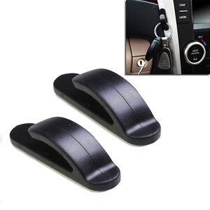2 auto car truck convenient bag key purse holder hanger plastic hook adhesive. Black Bedroom Furniture Sets. Home Design Ideas