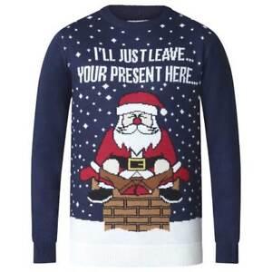 3xl Jumper ks18111 Christmas D555 Mens Santa 4xl 2xl Festive Comical Duke Big wgT4z