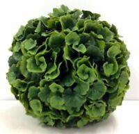 Pvc Galax Leaf Kissing Ball/orb. Green. 10. Great For: Basket, Arrangement, Etc