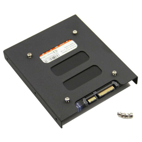 "2.5/"" SSD HDD to 3.5/"" Mounting Adapter Bracket Tray Dock for PC SSD Holder ODCA"