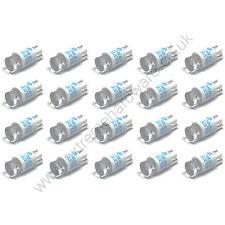 20 X 5v Azul 10mm T10 Base Cuña Bombillas LED Para Pulsadores-Mame Arcade