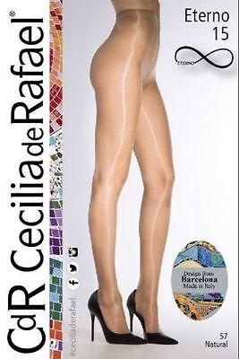 Cecilia De Rafael eterno 15 brillant Collants Haute Brillance pantyhose15den