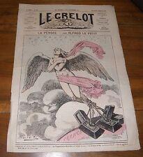 Le Grelot Journal Satirique N°148 La Pensée Par Alfred Le Petit 8 Février 1874