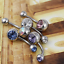 BODYA-Belly-Bars-Balls-Surgical-Steel-Belly-Button-Jewelry-Pack-of-5-Body miniature 4