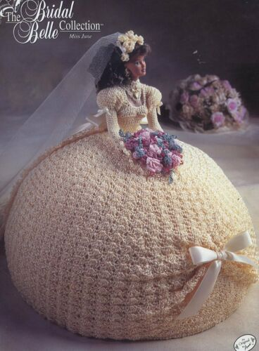 Miss June Bridal Belle Dress for Barbie Doll Crochet PATTERN//INSTRUCTIONS//NEW