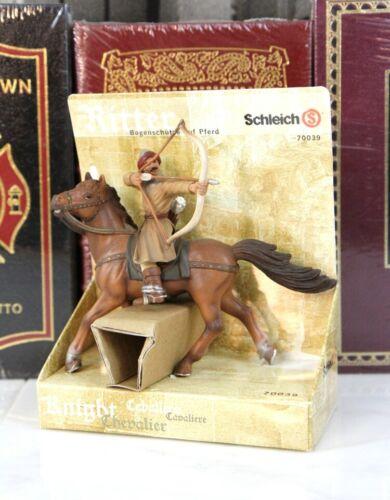 Schleich Chevaliers-SARACEN Rider Bowman 70039 TRÈS RARE RETIRED-Neuf