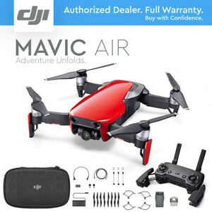DJI-MAVIC-AIR-Foldable-amp-Portable-Drone-w-4K-Stabilized-Camera-FLAME-RED
