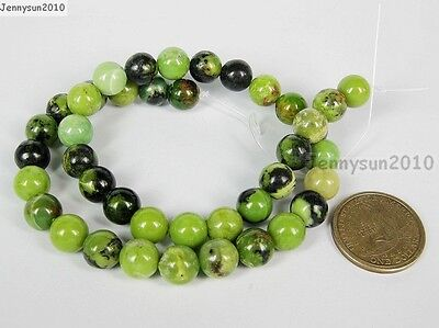 Natural Australian Chrysoprase Gemstone Round Beads 16'' 4mm 6mm 8mm 10m 12mm