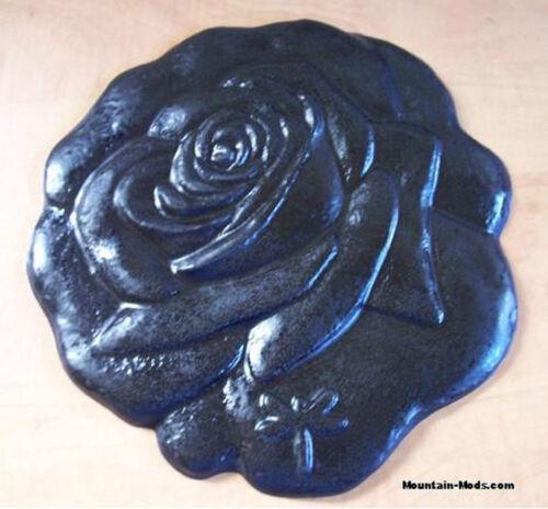 "CONCRETE STAMP Rose Bud 11/"" BORDER ART STAMPS MATS New"