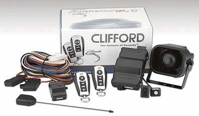 Clifford Arrow 5.1 Car Security Alarm and Immobiliser inc 2 remotes