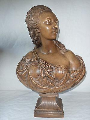 Buste de femme en terre cuite par Pajou, Portrait de Madame la comtesse du  Barry   eBay