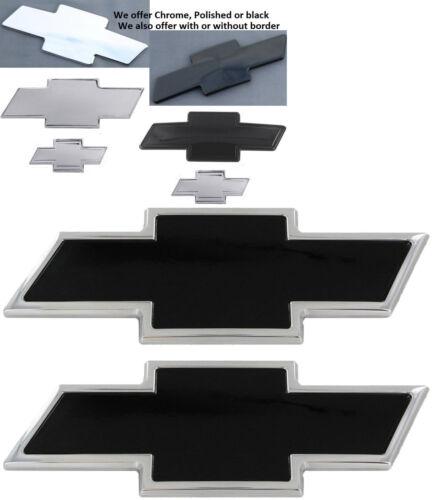2015-2017 CHEVY Suburban 2015-2017 CHEVY Tahoe BowTie Emblem black chrome polish
