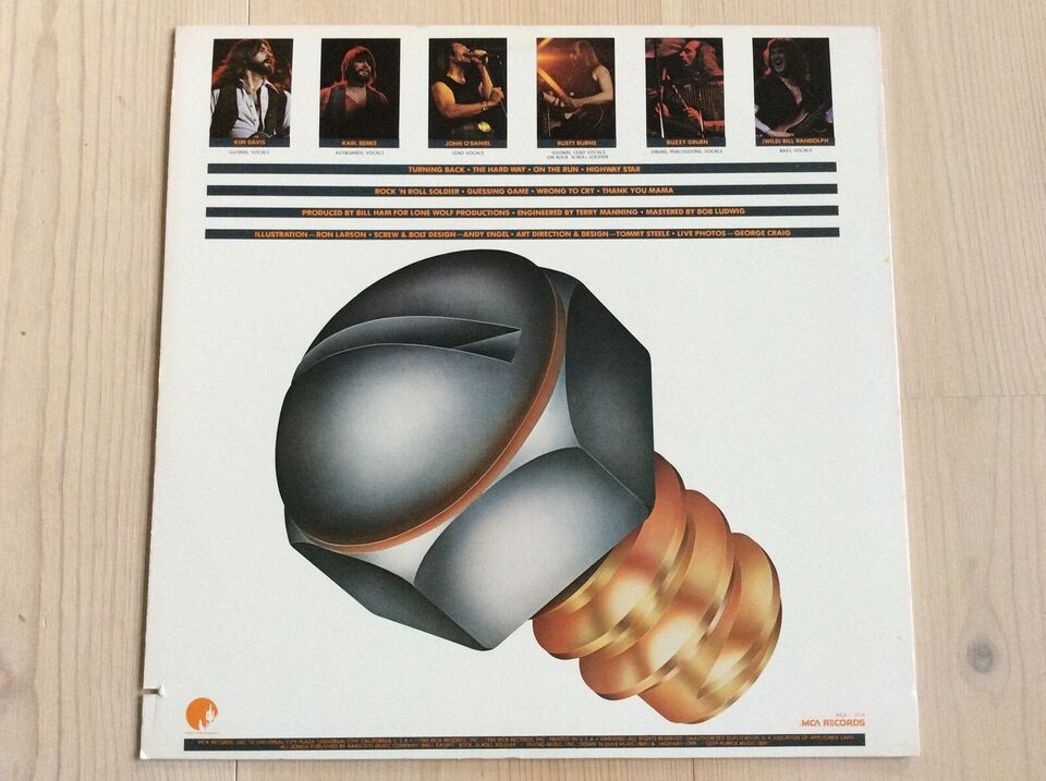 LP, POINT BLAK, The Hard Way