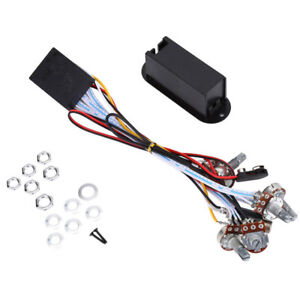 2 3 band eq preamp circuit bass guitar dual potentiometer for active bass pickup ebay. Black Bedroom Furniture Sets. Home Design Ideas