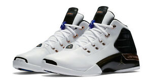 815b5e861fa Nike Air Jordan 17+ Size 8.5-14 Retro White Copper Coin Black 832816 ...