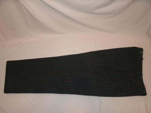 Vintage L.L. Bean Thick Wool Pair of Plaid Suspend