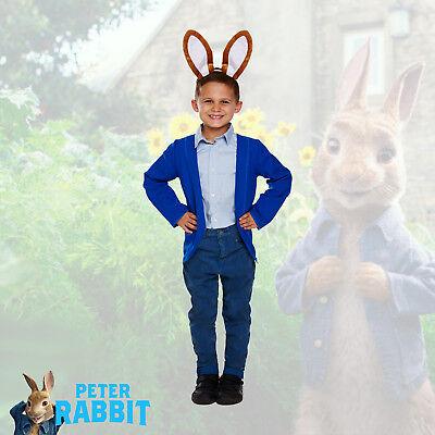 4-12 World Book Week Day Costume Boys Rabbit Jacket /& Ears Fancy Dress