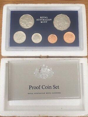 1984 Australia Proof 6 Coin Set in Case /& Foam with Certificate