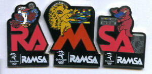 SYDNEY-2000-OLYMPIC-GAMES-AUSTRALIA-RAMSA-SET-X-3-A-GREAT-COLLECTIBLE