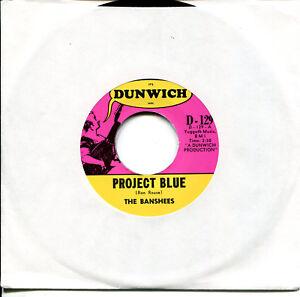 BANSHEES-7-034-Project-Blue-Free-USA-1966-Garage-classic