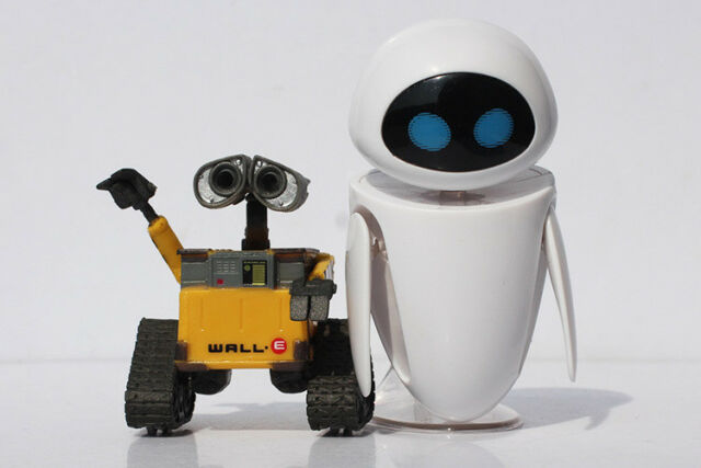 New Disney Pixar Wall-E WALL·E Robot Toy Mini Action Figures no box Gift