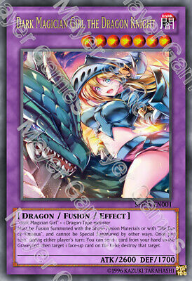 YuGiOh Orica Dark Apprentice Magician Girl Holo Götter Custom Style