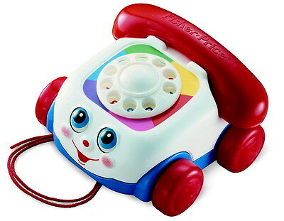 Fisher-Price Toddler Chatter Telephone Toy