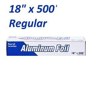 "12/""x 1000/' Regular Aluminum Foil Roll Burrito Tortilla Bagel Food Wrap Storage"