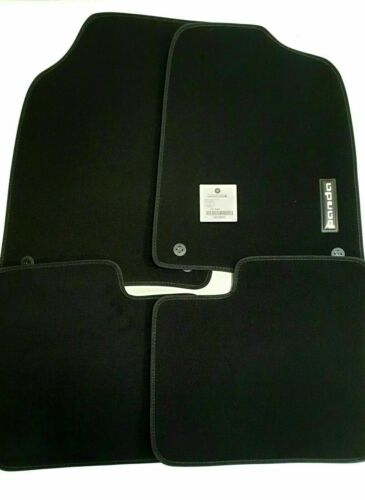 Genuine New Fiat Panda Velour Carpet Mats With Embossed Logo 71807512 Clearance
