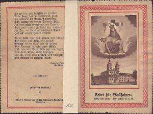 Maria-Schosberg-Eslovaquia-Hungria-Bohemia-Wallfahrt-Recuerdo-Estampa-B-5040