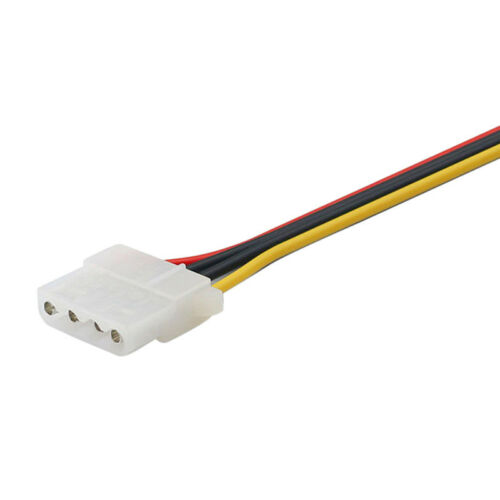 SATA Power Female to Molex Male Adapter Converter Cable 6-InJB