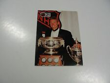Wayne Gretzky 1991 NHL Pro Set (French) Award Winner card #324