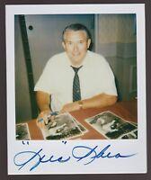 SPEC SHEA NY YANKEES 1980'S ORIGINAL POLAROID PHOTO SIGNED AUTO JSA DEC 2002