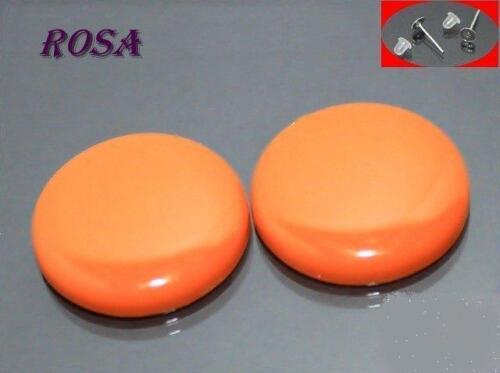 Boucles d/'oreille et ohrstopper 4 pièces * Ka40 rétro perles acrylique vitres pour coller