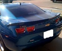 Fits Chevy Camaro Coupe 2010-2013 3pc Flush Mount Rear Trunk Spoiler Painted (p)