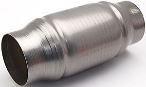 """Magnaflow 3/"""" 200 Cell CPSI CPI Metal Core Cat Converter Stainless Steel Body New"""